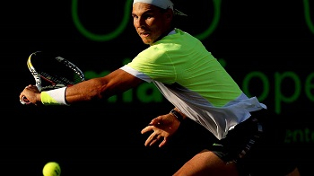 Rafael Nadal is ousted in the third round by fellow Spaniard Fernando Verdasco in Miami.