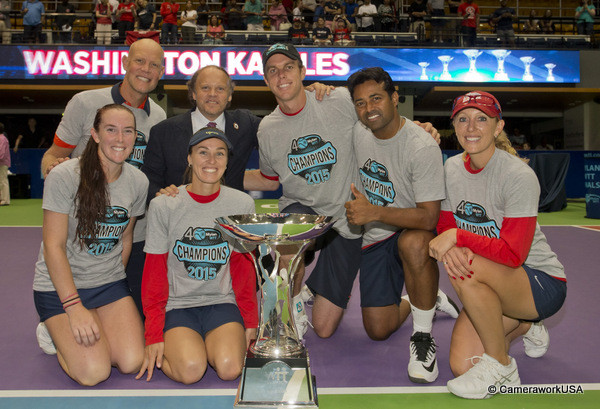Aug. 2, 2015; Washington, D.C.: Washington Kastles win
