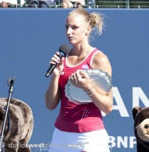 Pliskova with RU trophy-001
