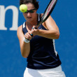 2015 US Open: An Upbeat Jamie Loeb Loses to Caroline Wozniacki in Her Pro Debut