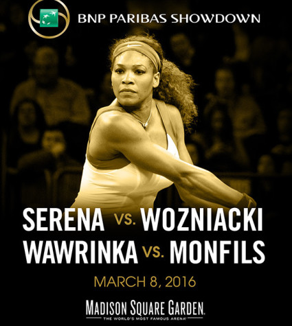 Serena Williams MSG