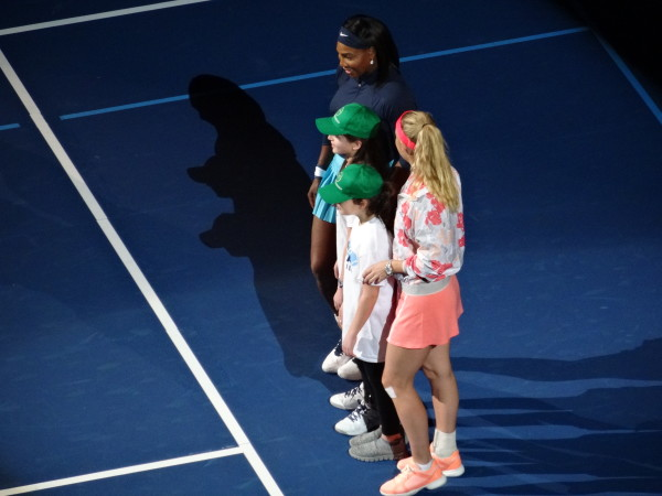 BNPPS Serena Wozniacki