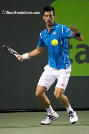 Novak Djokovic photo courtesy of MiamiTennisNews.com